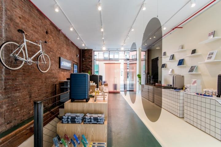 Away concept store New York City Retail Design Blog