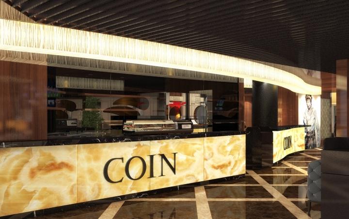 187 Coin Restaurant By Dekart Studio Kiev Ukraine