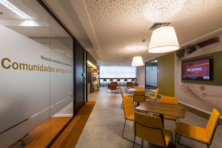 Athié Wohnrath has developed thew new offices of Cargill located in São  Paulo c136ea2cb314e