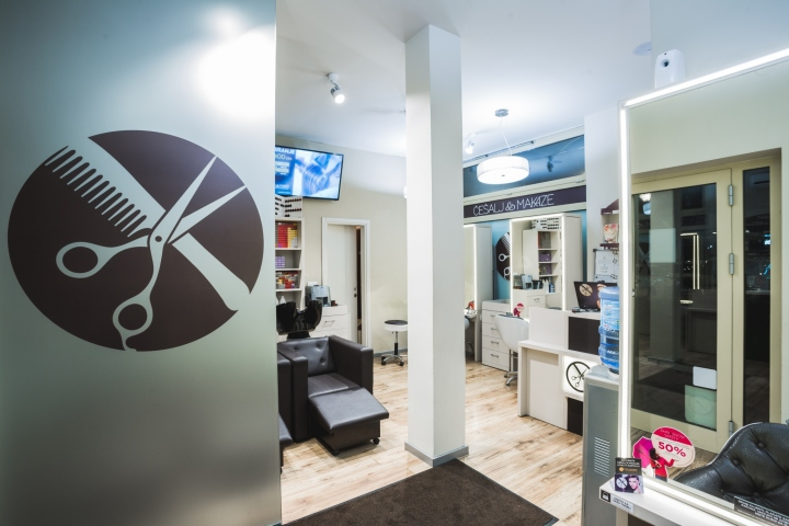 Hair salon for Salon milan design