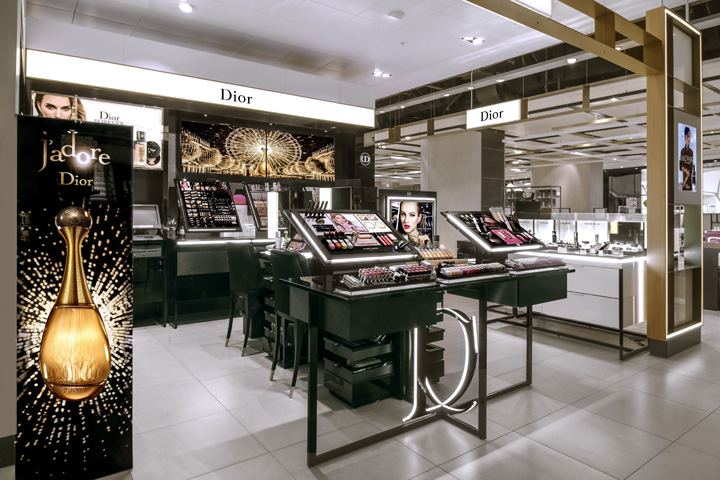 187 Dior Beauty Hotspot By Umdasch Shopfitting Birmingham Uk