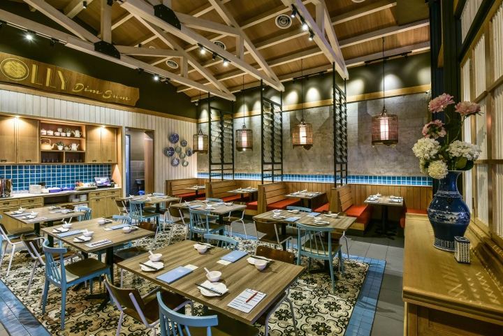 187 Dolly Dimsum Chinese Restaurant By Metaphor Interior