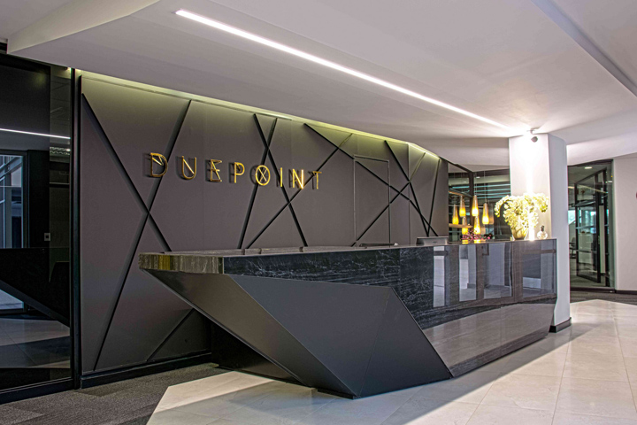 Due point financial services offices by onepointzero for Office interior design services