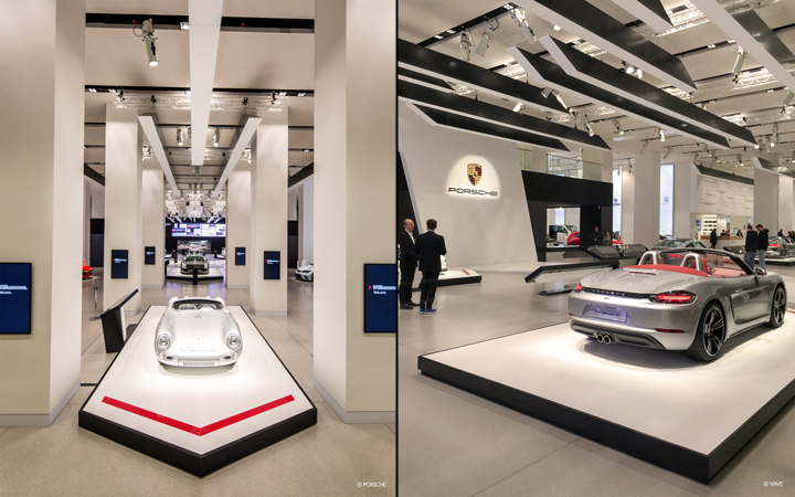 Creative Agency VAVE GmbH Exhibition Design Architecture Lead Liganova Photography By PORSCHE AG SUPER MM