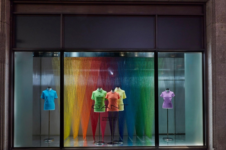 The art of colour retail design blog for Show window designs