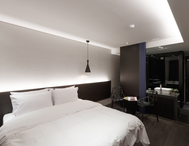 H casual hotel by quaddesign seoul south korea retail for Design hotel seoul