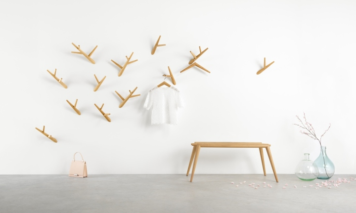 Beautiful Inspired By Ivy Fronds Threading Their Way Through Nature, The Number Of  Hooks Can Be Scaled Up To Cover A Whole Wall, Like The Growth Of The  Real Life ...