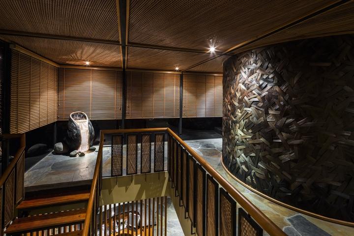 Kimono japanese restaurant by nh village architects hanoi