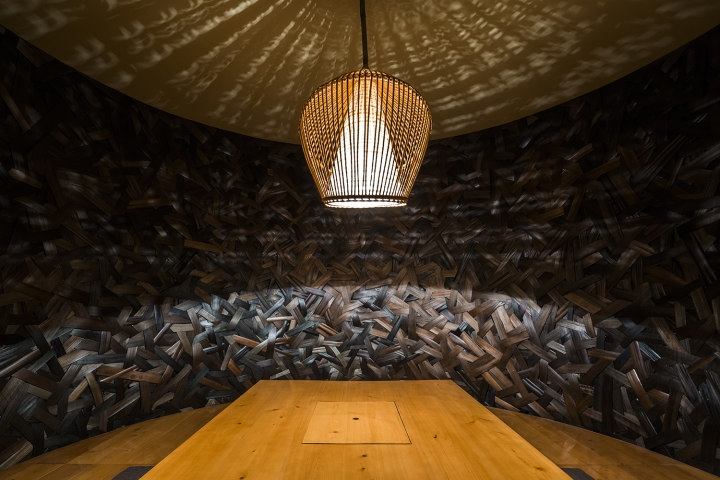 Kimono japanese restaurant by nh village architects hanoi