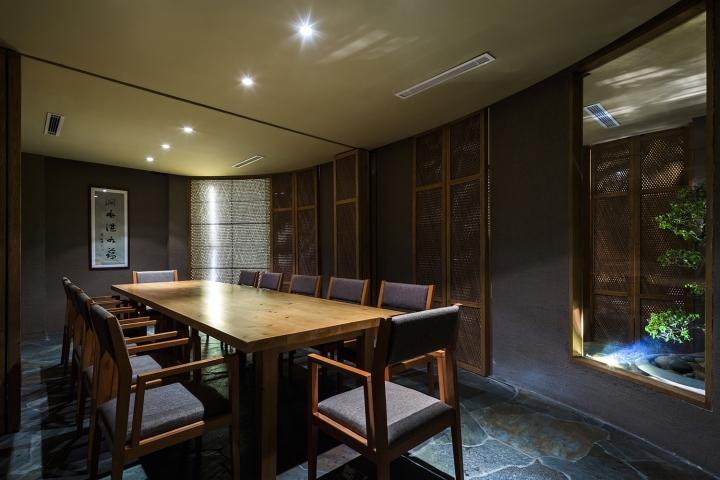 Kimono japanese restaurant by nh village architects