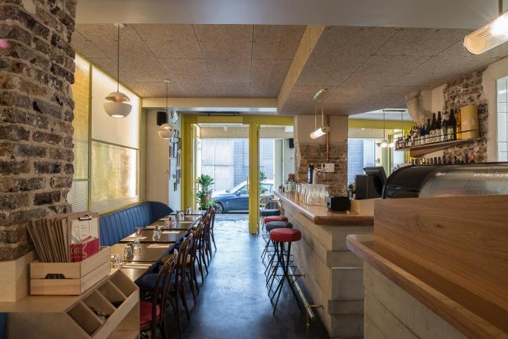 Koko japanese restaurant by studio janreji paris france for Hotel francs tokyo japan