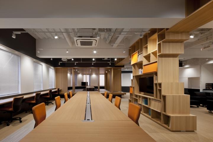Kobunshoin Publishing office by GRIPCo Tokyo  Japan  Retail