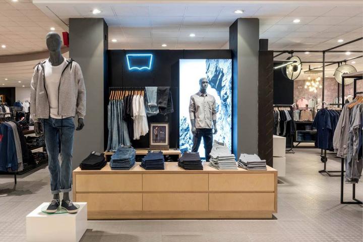 levis Retail Design Blog