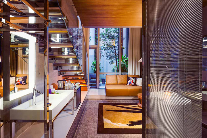 M social singapore hotel by philippe starck singapore for Design hotel singapore