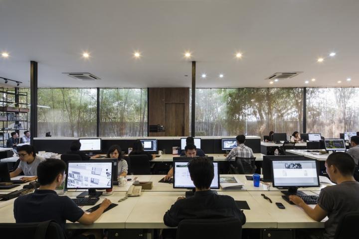 Mia design studio offices ho chi minh city vietnam for Office design vietnam