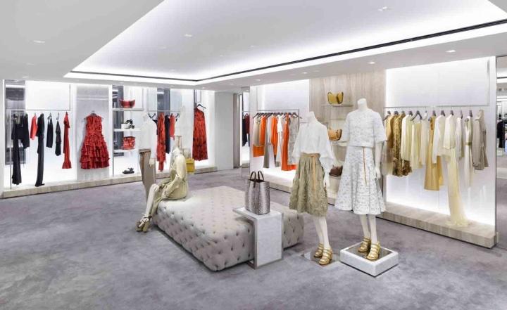 michael kors regent street flagship store london uk retail design blog. Black Bedroom Furniture Sets. Home Design Ideas