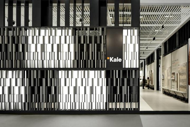 Monochrome Kale Pavilon by Paolo Cesaretti at Unicera 2016, Istanbul – Turkey