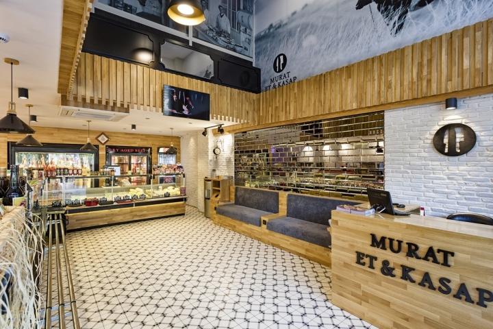 Murat Et Butcher Shop By Kst Architecture Antalya