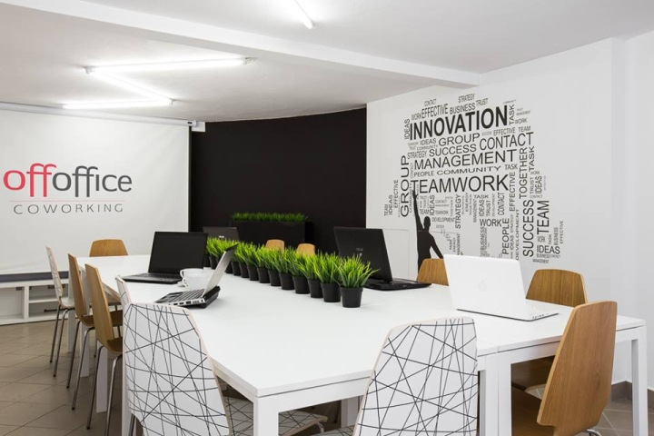 OffOffice co-working space by Orange Studio, Krakow – Poland