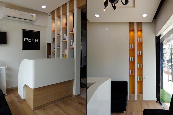 POSH Salon Spa by Jignasu Shah Design Associates Ahmedabad