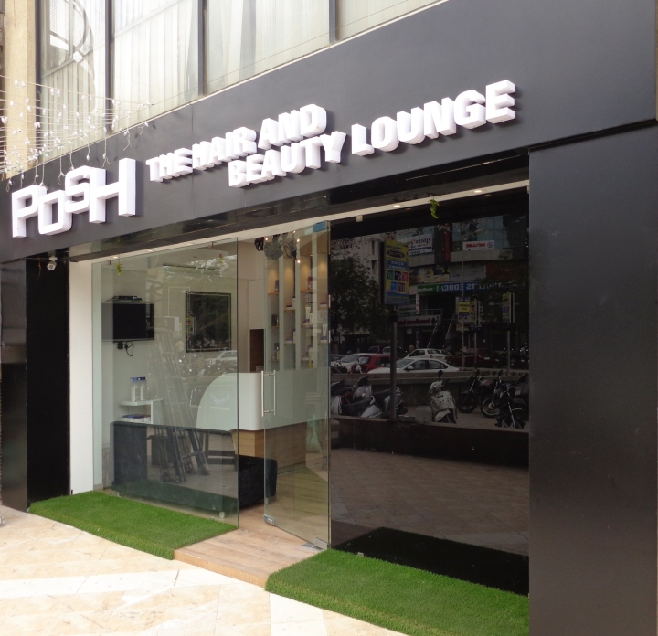 » POSH Salon & Spa By Jignasu Shah Design Associates