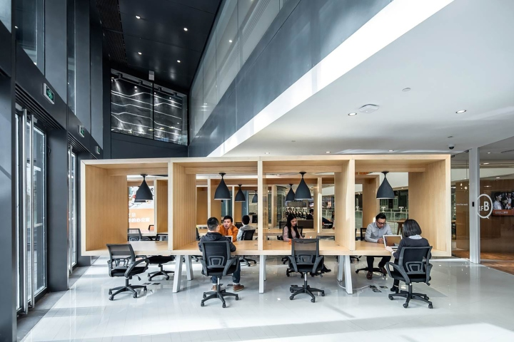 Co working space retail design blog for Commercial space design