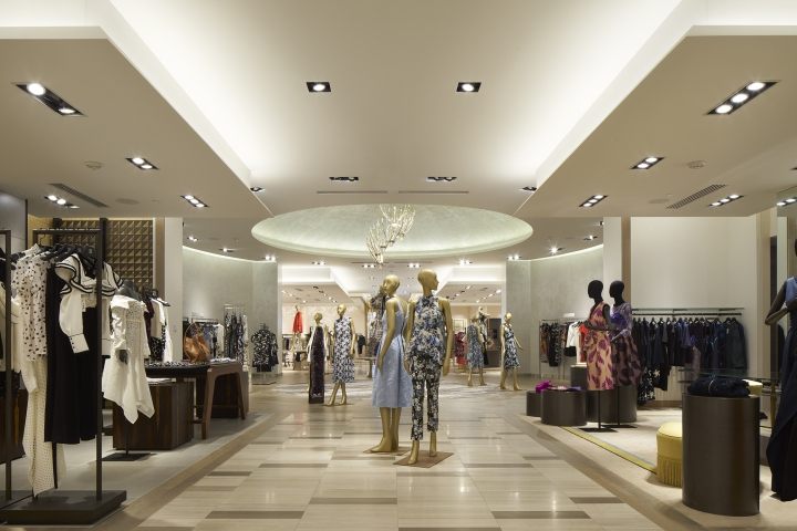 Saks Fifth Avenue Flagship Store By CBX Houston Texas