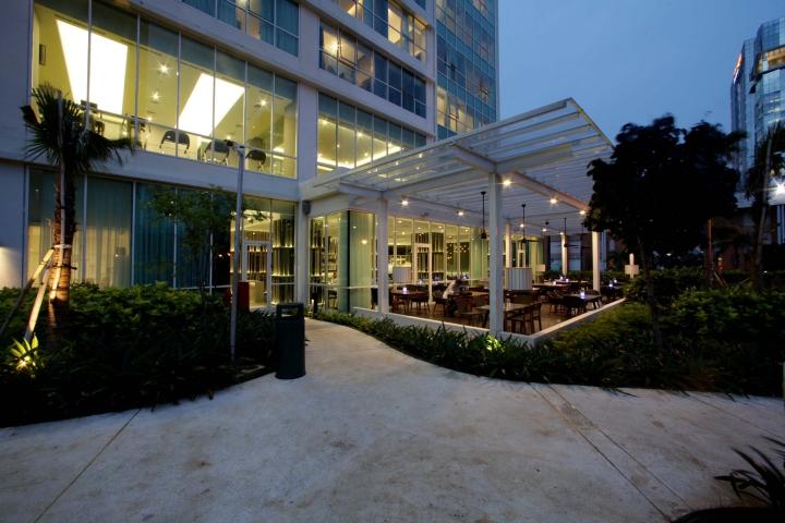 Setiabudi sky garden by metaphor interior jakarta for Design hotel jakarta