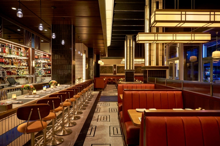 Silver brasserie by core washington d c retail design blog for American cuisine washington dc