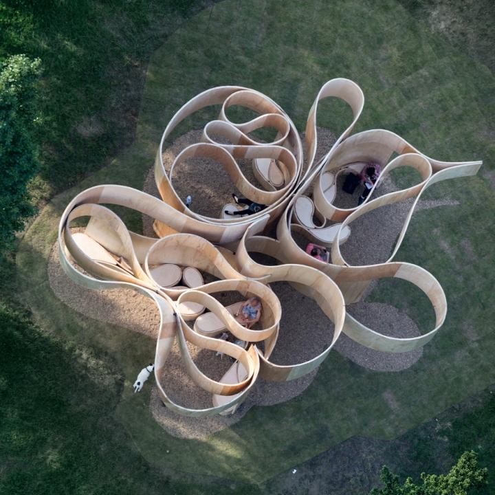 187 Summer House At Serpentine Galleries By Barkow Leibinger