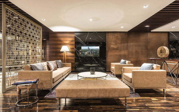 Superluxe Lounge By The Blue Leaves Design New Delhi India