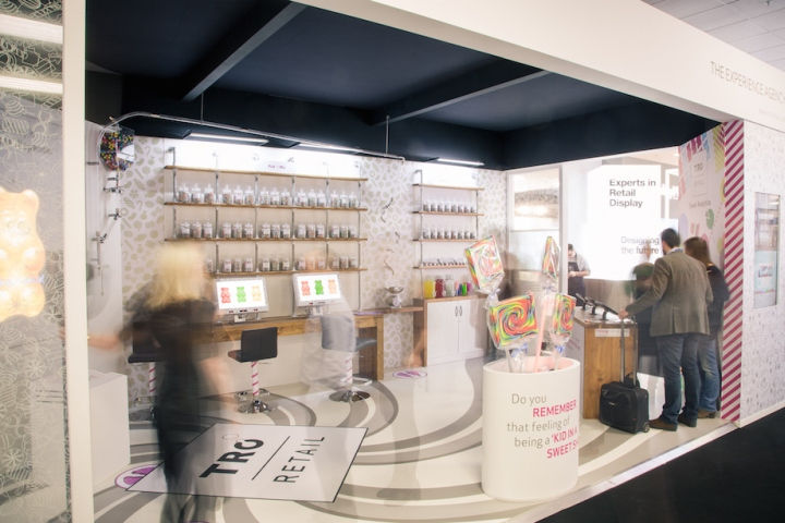 Expo Stands Interior Office 2016 : Tro u the sweet shop stand at retail design expo london u uk