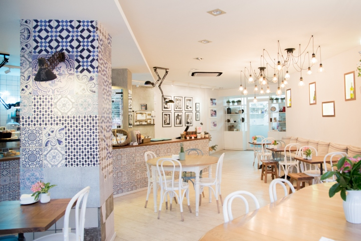 Tartela cake-shop / café by ECM Interiorismo, Barcelona – Spain
