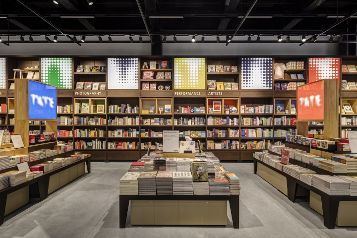 Tate modern shop extension by uxus london uk retail for Modern furniture stores london