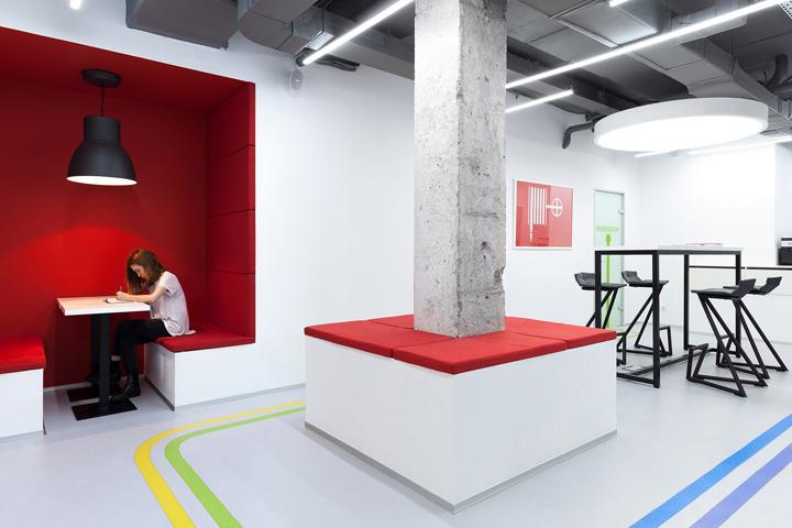 Underhub Language School And Coworking Space By Emil Dervish Architect Kiev Ukraine
