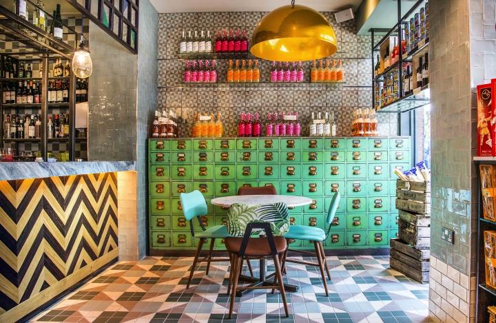 Wildwood restaurant by Design Command, Letchworth Garden City – UK