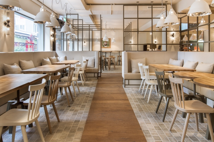 B good restaurant by dyer smith frey zurich