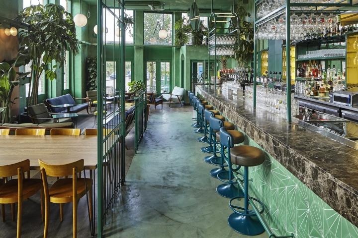 Bar botanique by studio modijefsky amsterdam - Bar cuisine studio ...