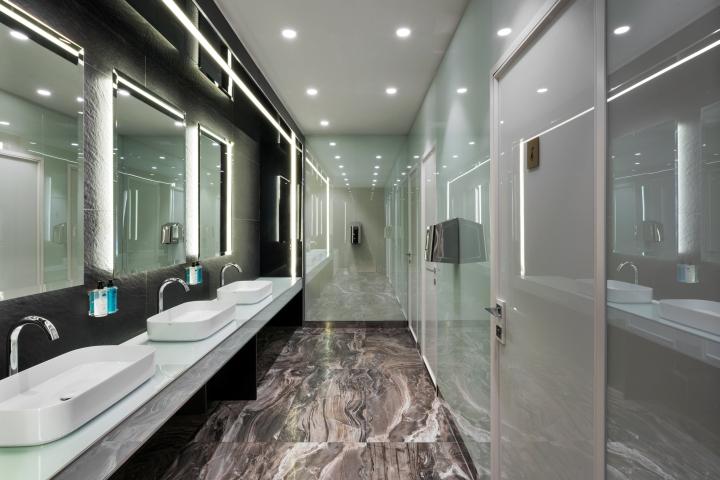 Casa alitalia lounges by studio marco piva rome milan for Case vip roma