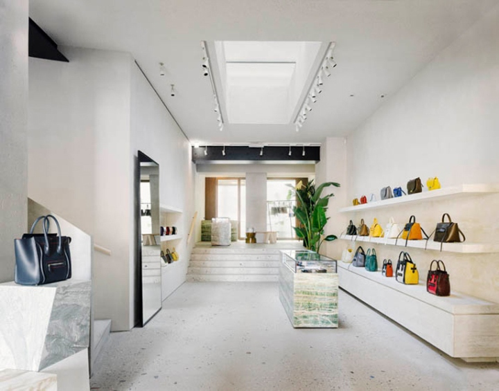 C line store milan italy for Store design milano