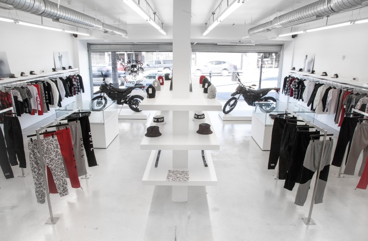 DOPE store by A INDUSTRIAL Design Build Los Angeles California