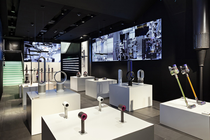 Dyson Demo Store By Wilkinson Eyre Amp Dyson London Uk