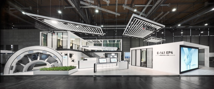 Enercon stand by ache stallmeier at hannover messe 2016 for Interior design messe