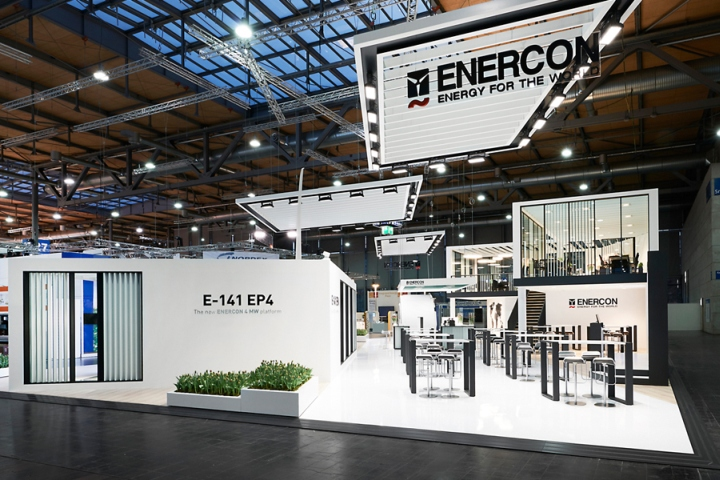 enercon stand by ache stallmeier at hannover messe 2016 hannover germany retail design blog. Black Bedroom Furniture Sets. Home Design Ideas