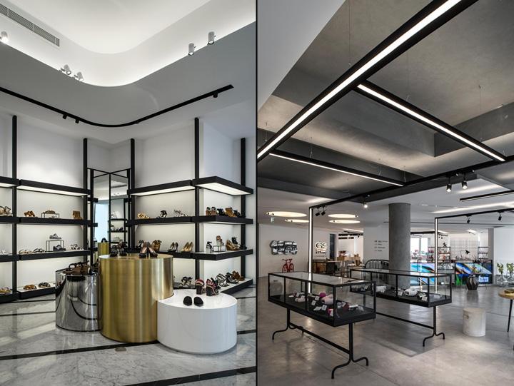 Gs store by joseph barakat architects beirut lebanon for Office design hamra