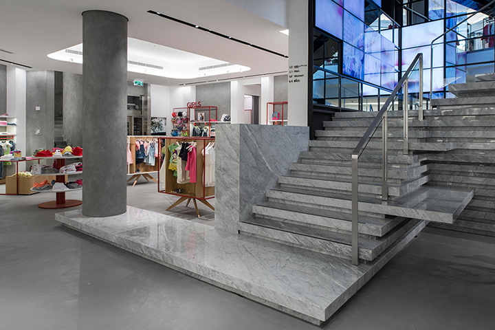 gs flagship store by joseph barakat architects beirut lebanon