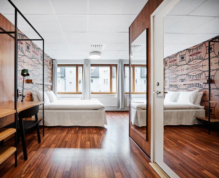 Generator hostel by designagency stockholm sweden for Hostel design