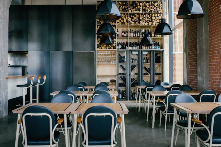 Hoogan Et Beaufort Restaurant By APPAREIL Architecture Montreal Canada