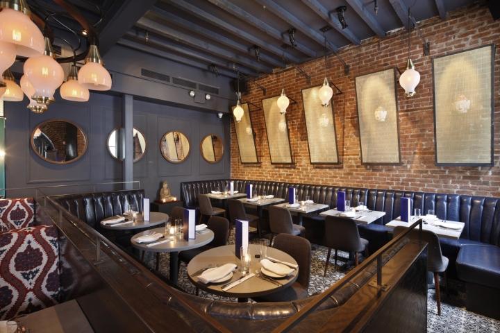 187 Jue Lan Club Restaurant By Dutch East Design New York City