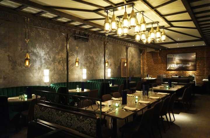 187 Jue Lan Club Restaurant By Dutch East Design New York City